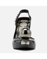 Melissa + Vivienne Westwood Anglomania - Black Lady Dragon 18 Heeled Sandals - Lyst