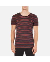 J.Lindeberg - Multicolor Teller Stripe T-shirt for Men - Lyst