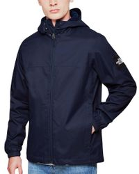 The North Face - Blue Black Label Mountain Q Jacket Navy for Men - Lyst
