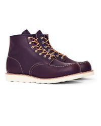 Red Wing | Heritage 6-inch Classic Moc Toe Leather Brown for Men | Lyst