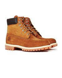 Timberland | Brown 6'' Premium Boot Dark Tan for Men | Lyst