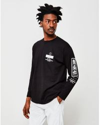 The Idle Man | Unconditional Long Sleeve T-shirt Black for Men | Lyst
