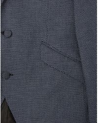 SELECTED - Black Zero Pattern Blazer for Men - Lyst