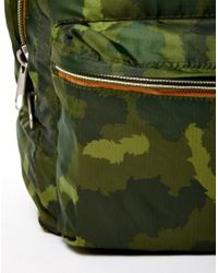 Poler | Stuffable Pack Bag Green Camo for Men | Lyst