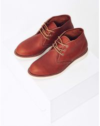 Red Wing - Multicolor Heritage Work Chukka Leather Tan for Men - Lyst