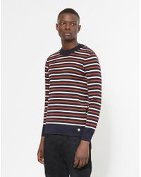 Armor Lux | Blue Armor-lux Pull Marin Heritage Jumper Navy for Men | Lyst