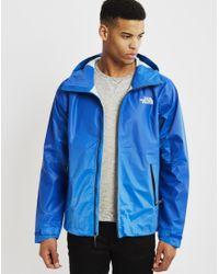 The North Face - Gray Fuseform Dot Matrix Jacket Blue for Men - Lyst