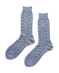 Ayamé - Gray Flag Solid Colour Socks Grey for Men - Lyst