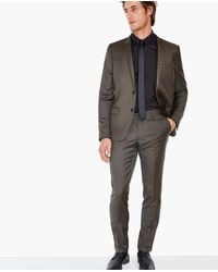 The Kooples Multicolor Suit Trousers With Turn-ups for men