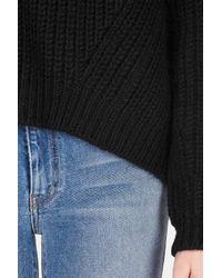 Acne - Black Java Rib Sweater - Lyst
