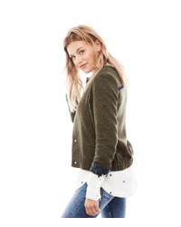 POM Amsterdam Green Jacket Uni Glitter