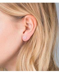 Orelia - Metallic Filigree Stud Earring - Lyst
