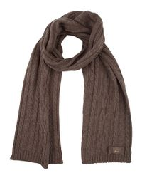 Guess - Brown Scarf - Lyst