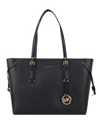 Michael Kors - Black Voyager Medium Tote - Lyst