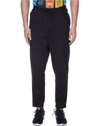 Y-3 | Black 3 Stripe Easy Pants for Men | Lyst