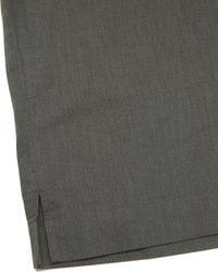 Homme Plissé Issey Miyake - Gray Ss Linen Shirt for Men - Lyst