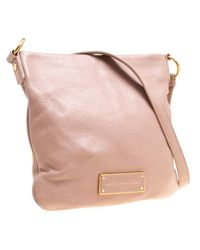 Marc By Marc Jacobs - Natural Leather Crossbody Bag - Lyst