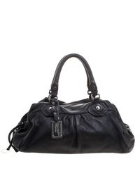 Marc By Marc Jacobs - Black Leather Classic Q Groovee Satchel - Lyst