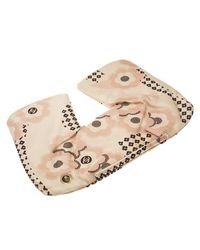 Chanel - Pink Floral Print Silk Pillow Case And Eye Mask Travel Kit - Lyst