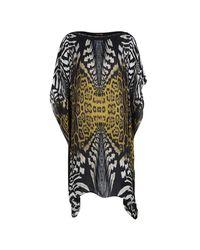 9f8360283b27b Roberto Cavalli. Women's Animal Printed Silk Kaftan Tunic M