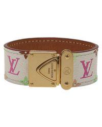 Louis Vuitton Brown Koala Monogram Multi Color Canvas Bracelet