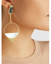 Monica Sordo - Metallic Callao Baby 21kt Gold-plated Earrings - Lyst