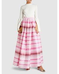 Taller Marmo - Pink La Orana Maria Cotton-blend Skirt - Lyst
