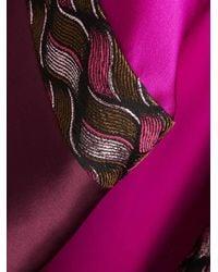LAYEUR - Pink Silk Raphaella Kaftan Dress - Lyst