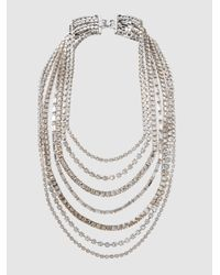 Erickson Beamon | Metallic Solidarity Crystal Necklace | Lyst