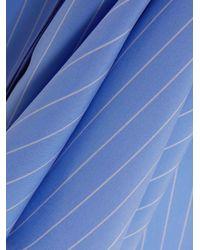 Palmer//Harding - Blue Striped Super Woven Shirt - Lyst