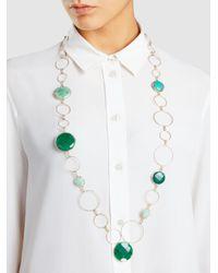 Rosantica - Multicolor Agate Raggio Necklace - Lyst
