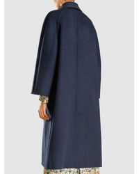 Sofie D'Hoore - Blue Cherie Double-faced Reversible Wool Coat - Lyst