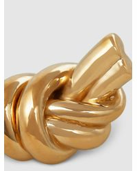 J.W. Anderson - Metallic Knot Gold-plated Earrings - Lyst