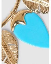 Aurelie Bidermann - Metallic Talitha Gold-tone Turquoise Earrings - Lyst