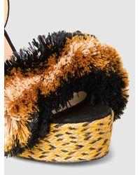 Castaner - Multicolor Acai Pompom-embellished Jute Sandals - Lyst