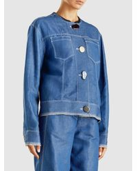 Rejina Pyo - Blue Erin Denim Jacket - Lyst