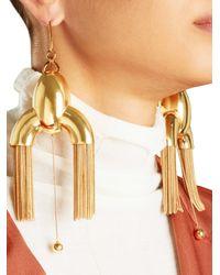 Ellery - Metallic Anthology Tassel Earrings - Lyst