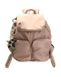 See By Chloé - Shell Backpack Pastel Pink - Lyst