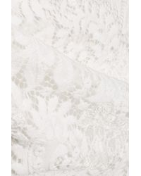 Miguelina - White Scarlett Lace Skirt - Lyst