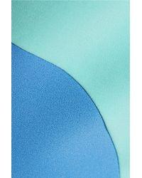 Roksanda - Blue Printed Crepe Dress - Lyst
