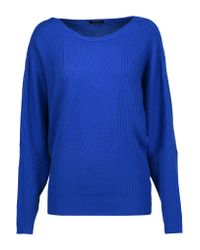 Raoul | Blue Cable-knit Wool And Cashmere-blend Sweater | Lyst