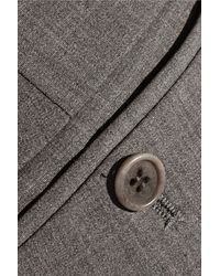 Theory - Gray Testra Stretch-wool Straight-leg Pants - Lyst