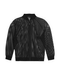 Koral - Black Mesh Jacket - Lyst