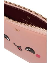 Anya Hindmarch - Pink Kawaii Leather Pouch - Lyst
