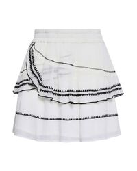 IRO White Mini Skirt