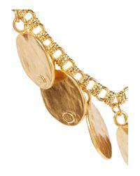 Kenneth Jay Lane - Metallic Gold-tone Bracelet - Lyst