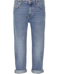 Acne | Blue Pop Light Vintage Boyfriend Jeans | Lyst