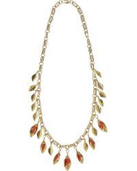 Aurelie Bidermann | Metallic Monteroso Gold-plated Necklace | Lyst