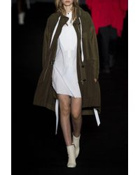 Rag & Bone - White Ellis Leather Ankle Boots - Lyst