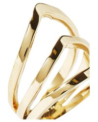 Arme De L'Amour - Metallic Sterling-silver Ring - Lyst